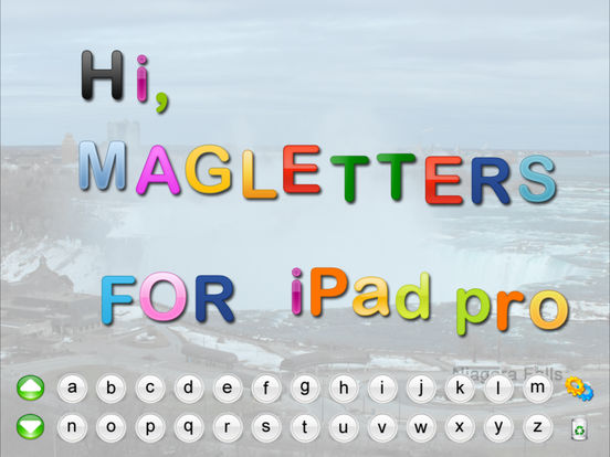 MagLetters iPad Screenshot 2
