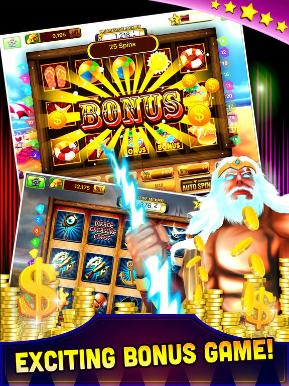 Free Las Vegas Casino Slots Machine Games - Spin for WIN Jackpot-ipad-1
