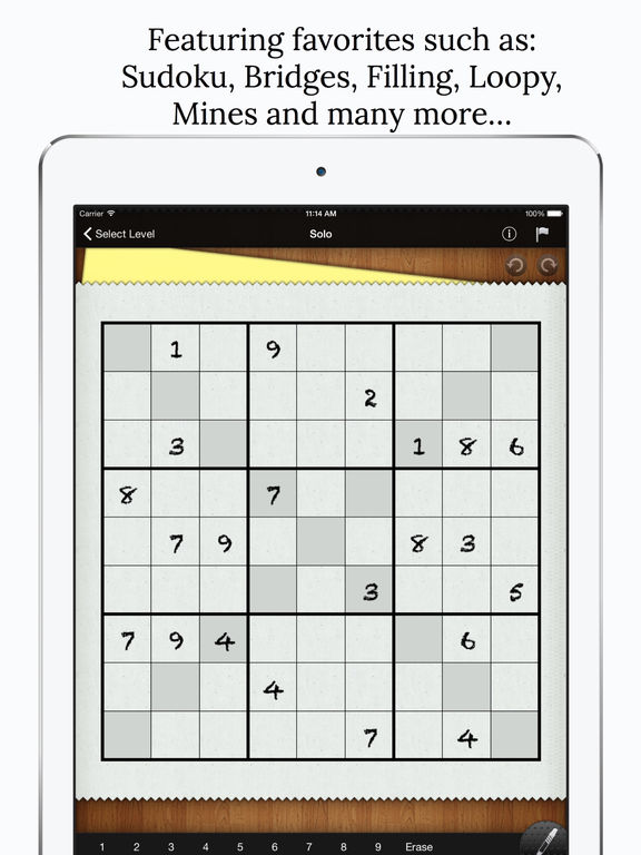 Genius Puzzles screenshot