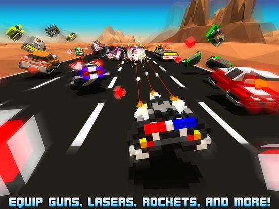 Screenshots of Hovercraft: Takedown - Custom Combat Cars for iPad