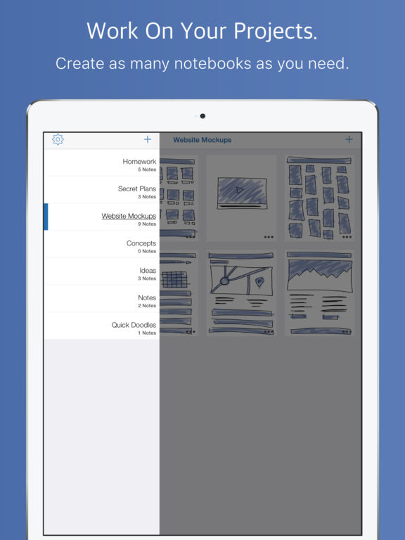Neptune Notes - Liquid Note-Taking and Drawing Screenshots