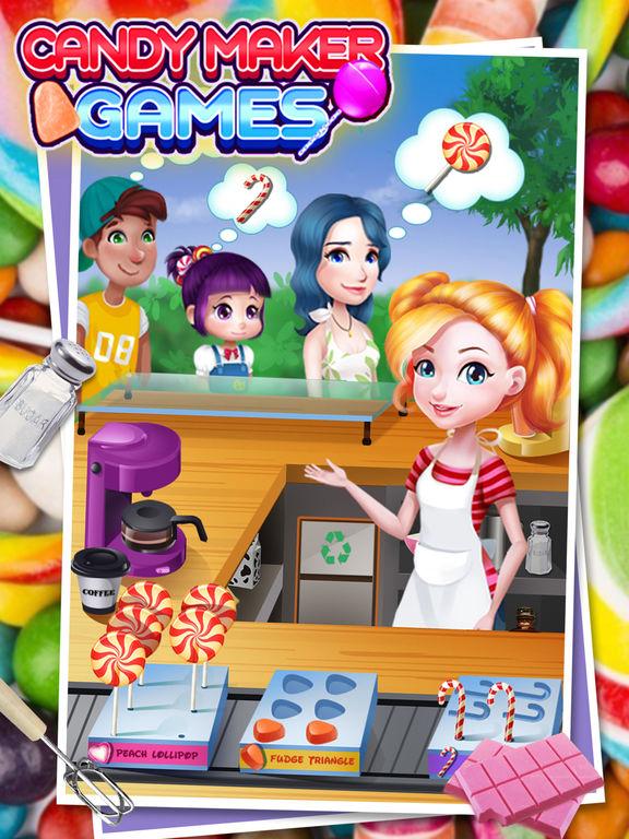 Candy Maker - best cooking gamesscreeshot 2