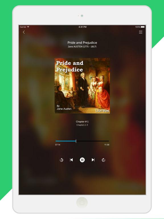 Audiobooks from Librivox - FREE 10,000+ Audio Books mp3 Скриншоты8