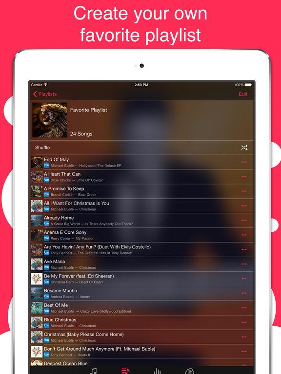 Stream - Cloud Music Player. Скрин 2