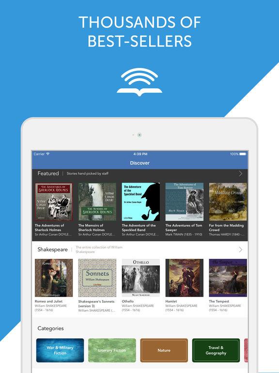 Audiobooks from Librivox - FREE 10,000+ Audio Books mp3 Скриншоты6