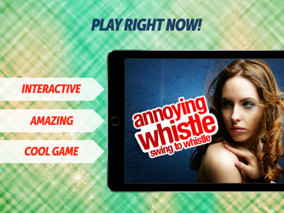 Annoying Whistle iPad Screenshot 1