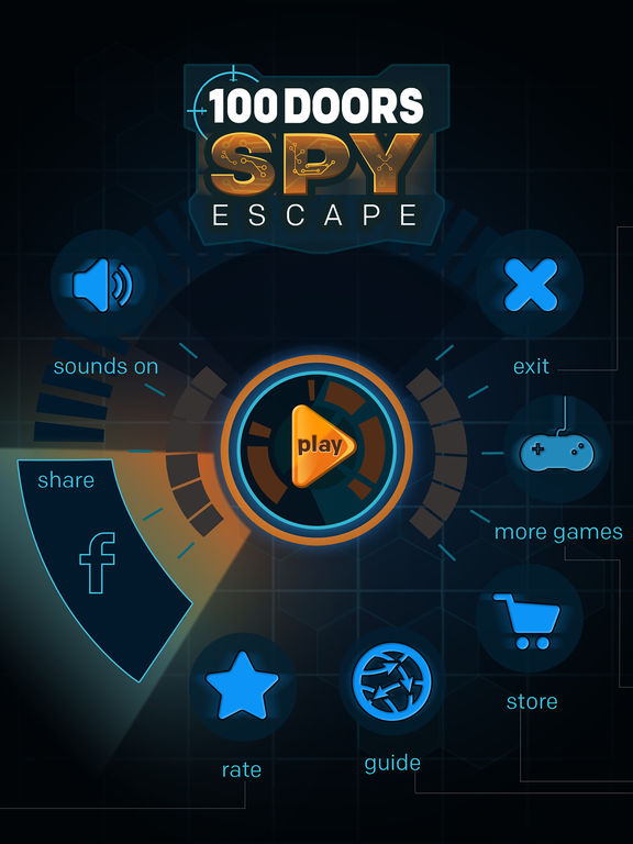 100 Doors Spy Escape HD на iPad
