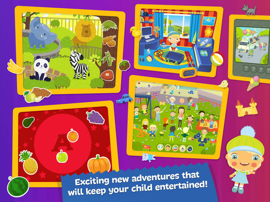 Boombons: play kids magazine - fun interactive educational games for childrenscreeshot 3