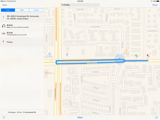 Track My Kid - Family GPS locator Screenshots