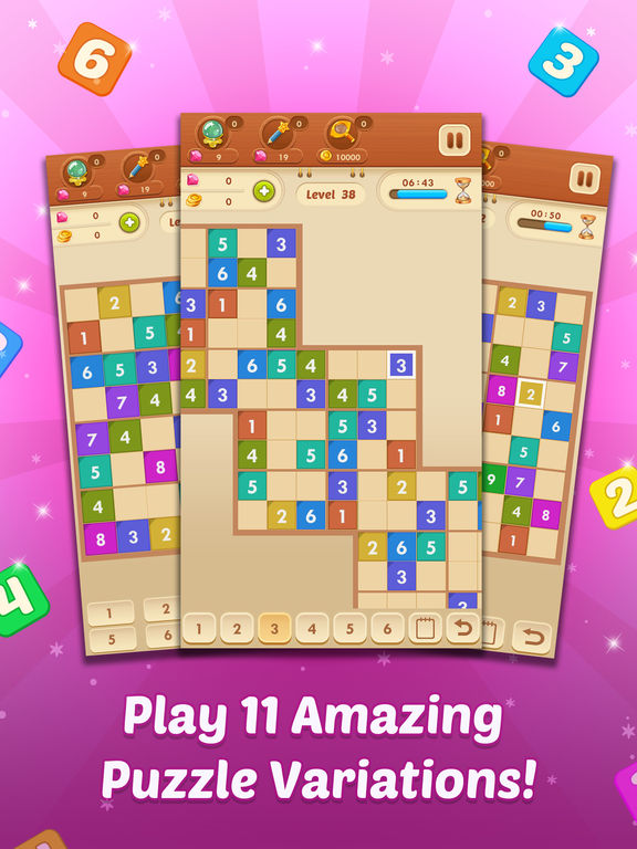Sudoku Quest - A Unique Free Sudoku Puzzle Game ! screenshot