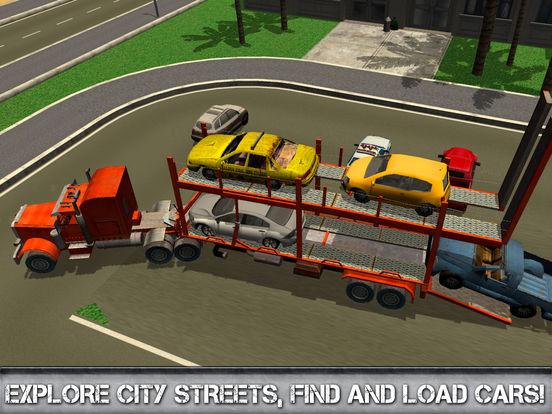 Car Transporter Driving Simulator 3D Full screenshot 6