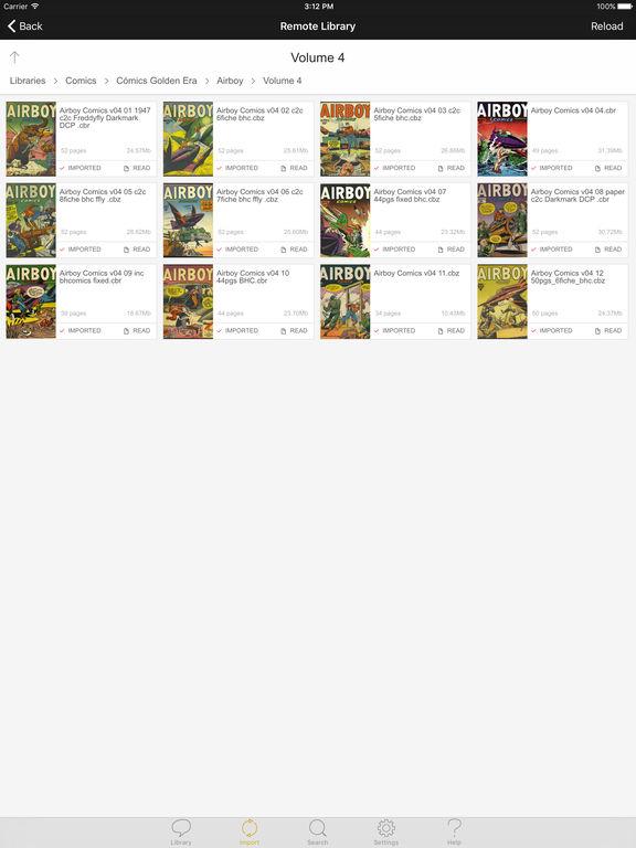 YACReader Screenshots