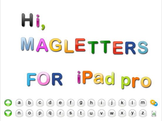 MagLetters iPad Screenshot 1