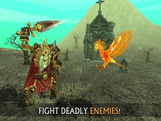 Phoenix Sim 3D - Fantasy Adventuresscreeshot 3