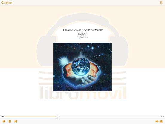 El Vendedor más Grande del Mundo - Audiolibro iPad Screenshot 2