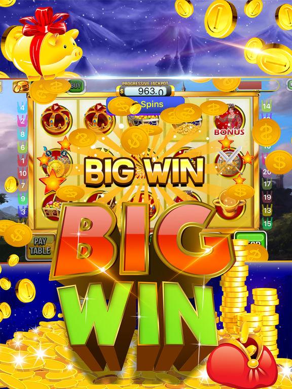 Free Las Vegas Casino Slots Machines Games - Super Win Lucky Jackpot-ipad-0