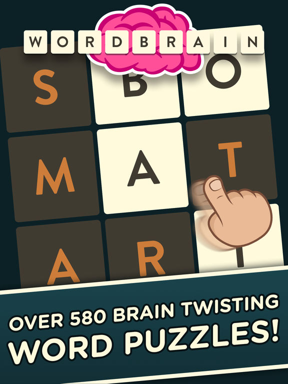 Screenshots of WordBrain for iPad