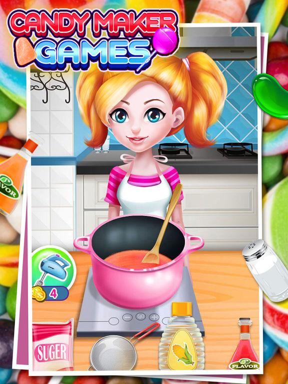 Candy Maker - best cooking gamesscreeshot 4