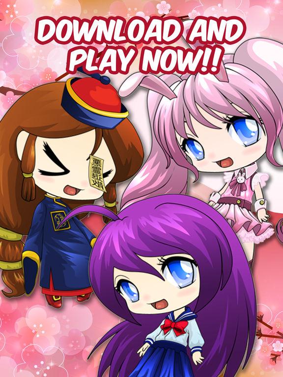 Anime Avatar Girls Free Dress-Up Games For Kidsscreeshot 4