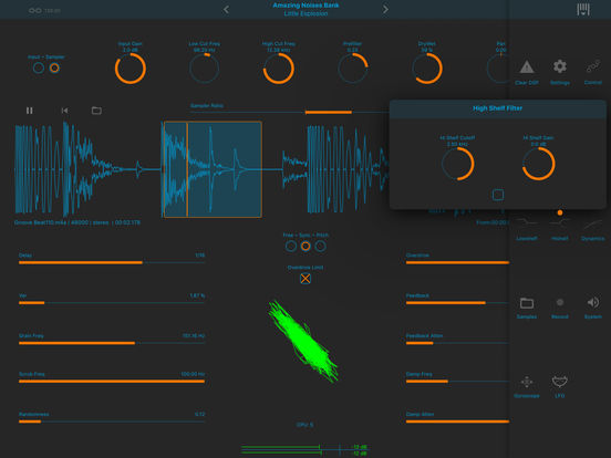 Dedalus - Delay Audio Mangler Screenshots