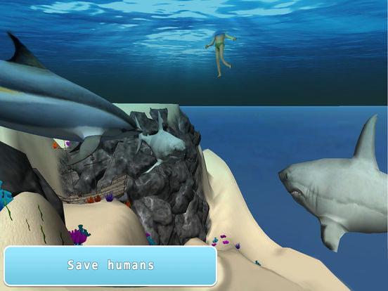 Sea Dolphin Simulator 3D Full Screenshots