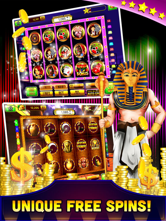 Free Las Vegas Casino Slots Machine Games - Spin for WIN Jackpot-ipad-4