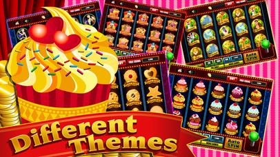 Screenshot 2 Сладкий Chocoholic кексы Восторг в Bakery города — Казино Вегас слоты игры