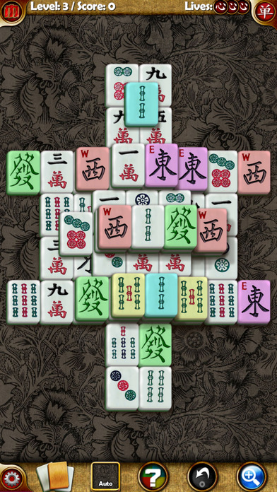 Random Mahjong Lite iPhone Screenshot 1