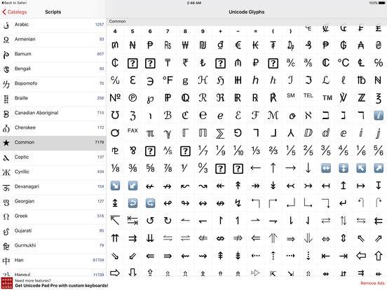 Unicode Maps Free iPad Screenshot 2