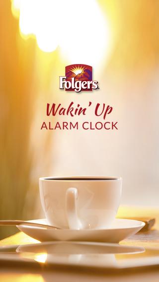 Folgers® Wakin' Up Alarm Clock