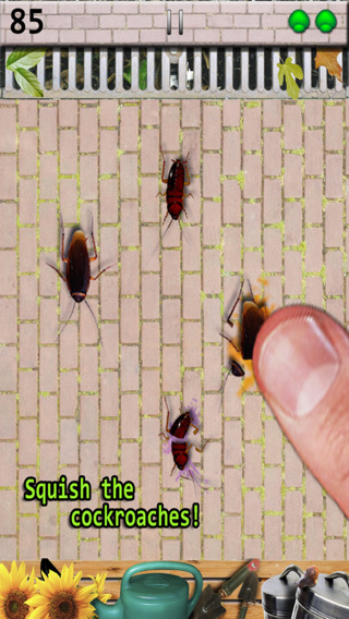 Cockroach Smasher Free Games - Cockroaches Crusher Best Game