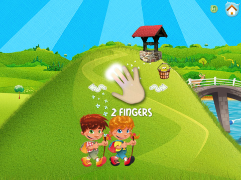 Jack and Jill: A Toddler Adventure HD iPad Screenshot 2