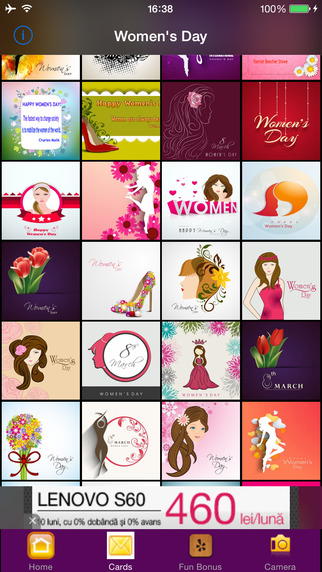 Womens Day Greeting Cards Wishes