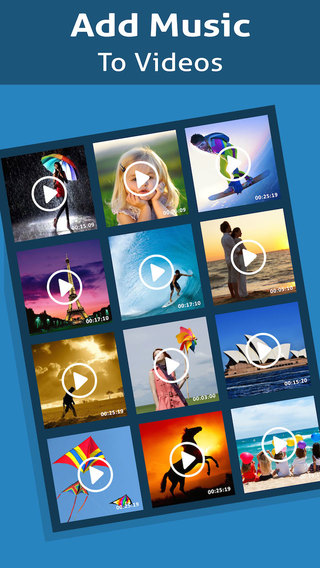 Audio Video Mixer - A Background Sound Editor To Add Music On Videos For Instagram Youtube