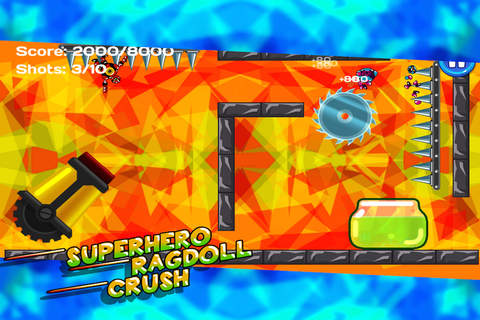 Superhero Ragdoll Crush screenshot 3