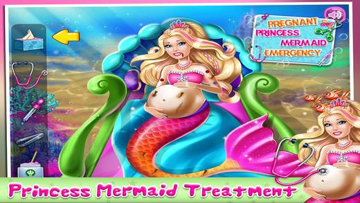 Pregnant Princess Mermaid Emergency