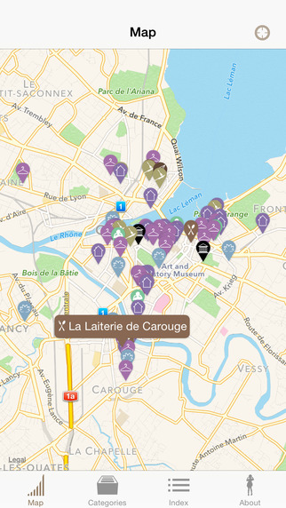 Urban Map - Geneva