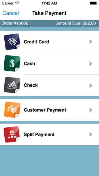 CashLINQ Point of Sale Credit Card Payment System