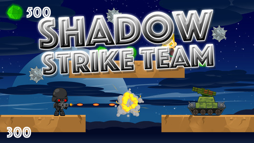 A Shadow Strike Team - Army of Tanks and Soldiers in a World of Battle