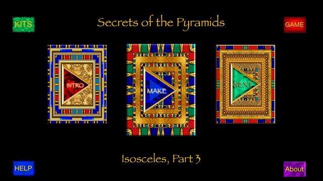 Secrets 1-3 PATTCAST Lefties : Pyramid adventures in crochet