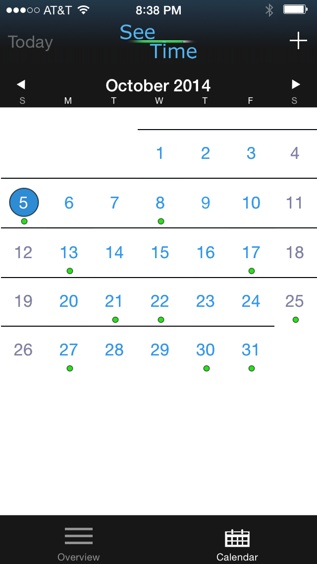 See Time - Visual Calendar screenshot