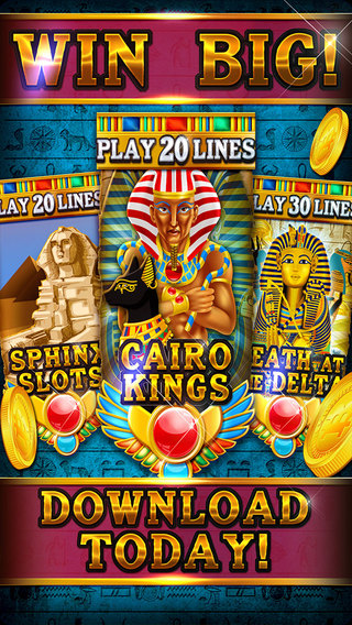 Slots - Sphinx Way: Forge of Egypt Expedition Casino of Glory
