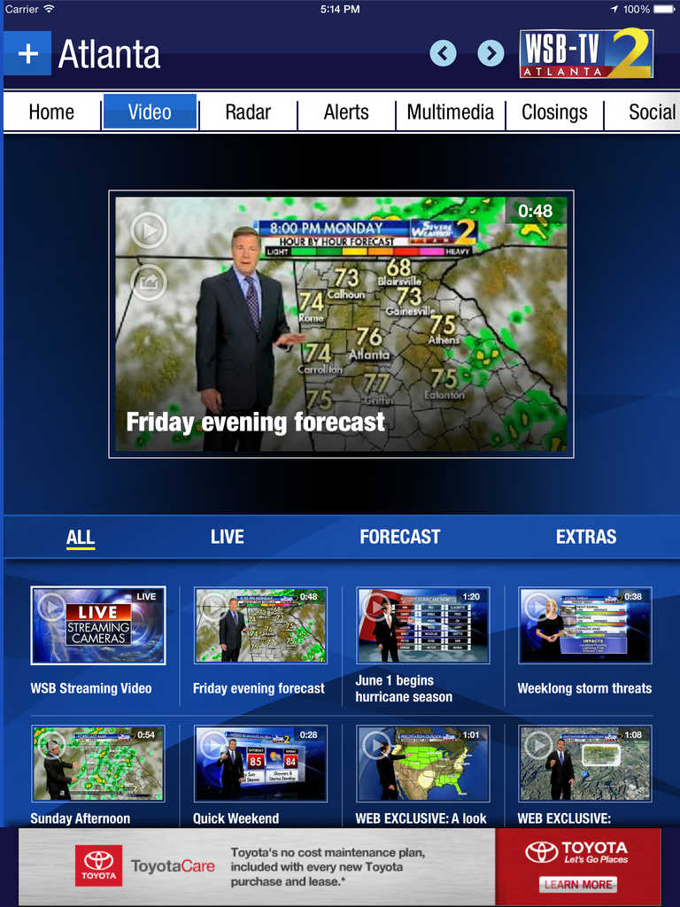 app shopper  wsbtv channel 2  u2013 atlanta weather  radar