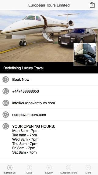 European Tours Limited