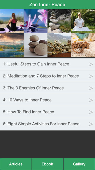 Zen Inner Peace - Create an Inner Peace Successfully