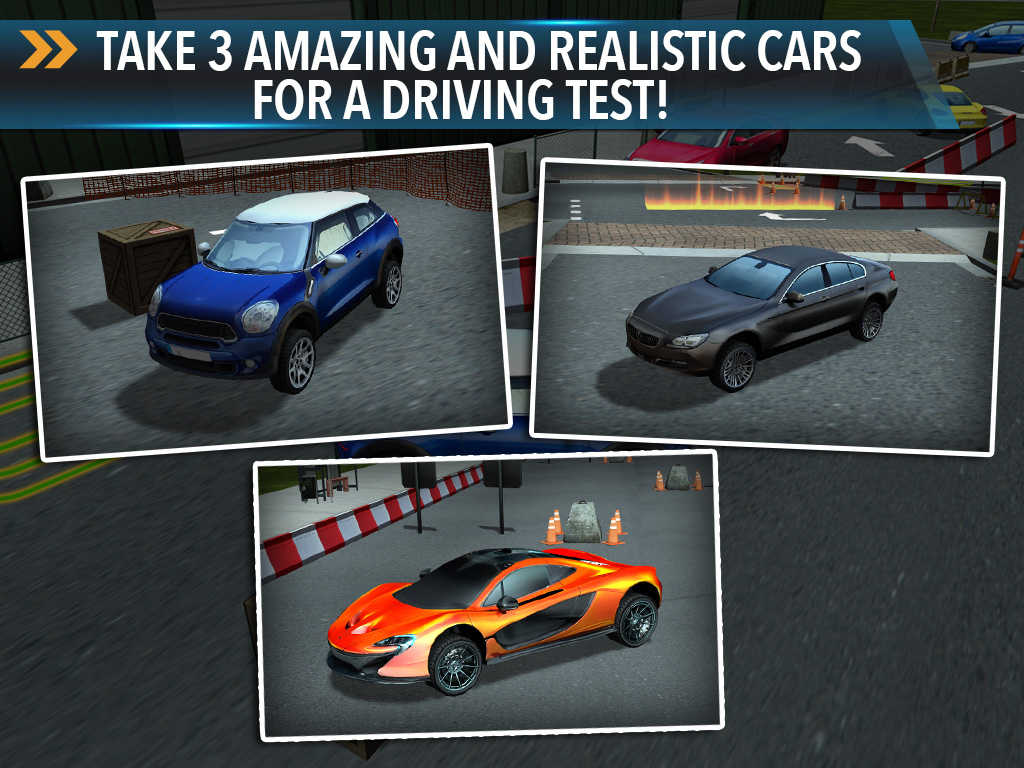 app shopper car parking driving simulator game real monster truck test drive park sim racing. Black Bedroom Furniture Sets. Home Design Ideas