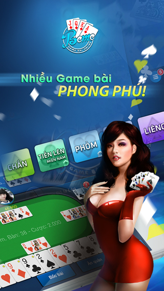 Beme - Game Danh Bai Online - Mien Phi Tang Koin