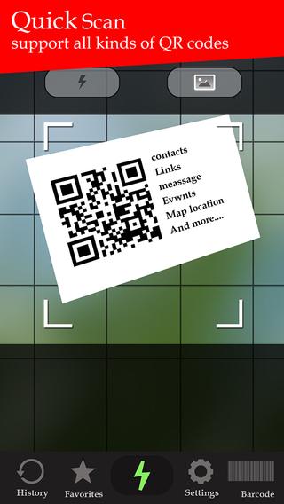 QR code scanner : Fast barcode Reader Free