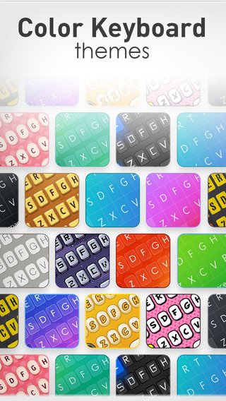Color Keyboard Themes Pro - new keyboard design backgrounds for iPhone iPad iPod