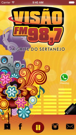 Rádio Visão 98 7 FM